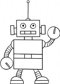 机器人简笔画图片教程