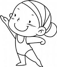 女孩简笔画图片教程(五)