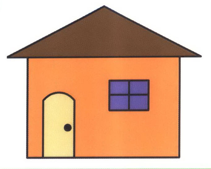 房子简笔画怎么画