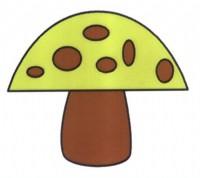 蘑菇简笔画怎么画