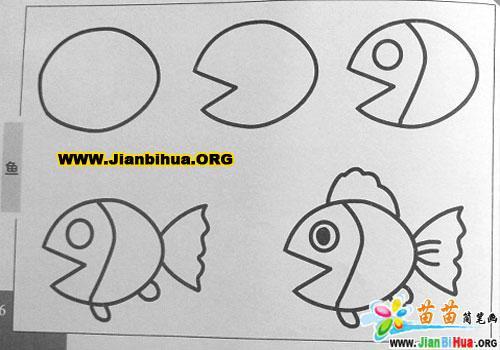 鱼的简笔画图片2张