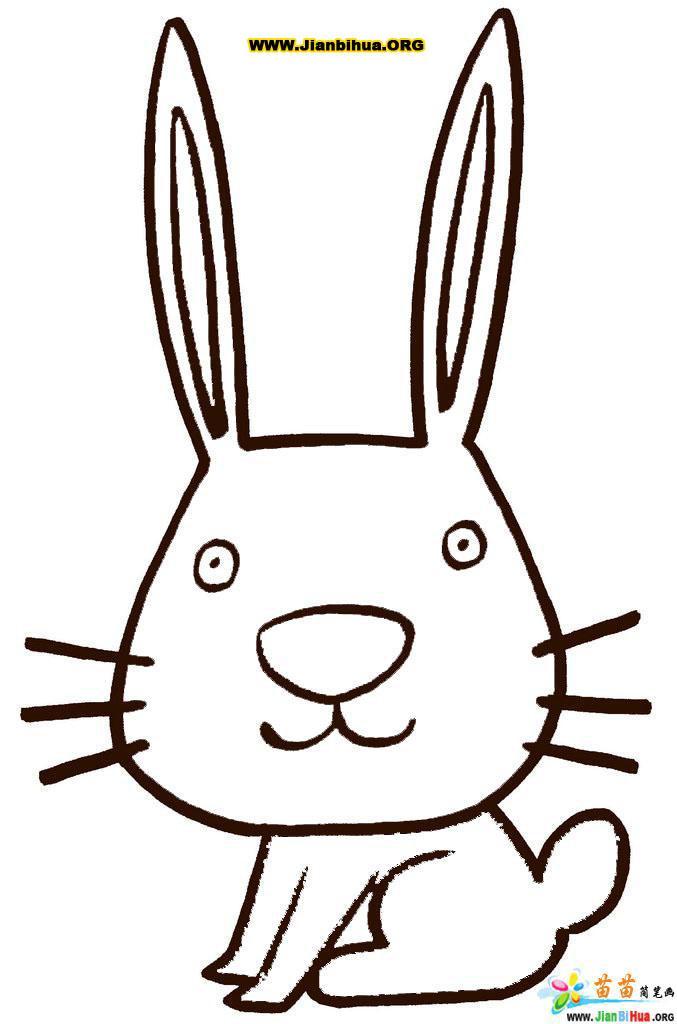 儿童动物简笔画