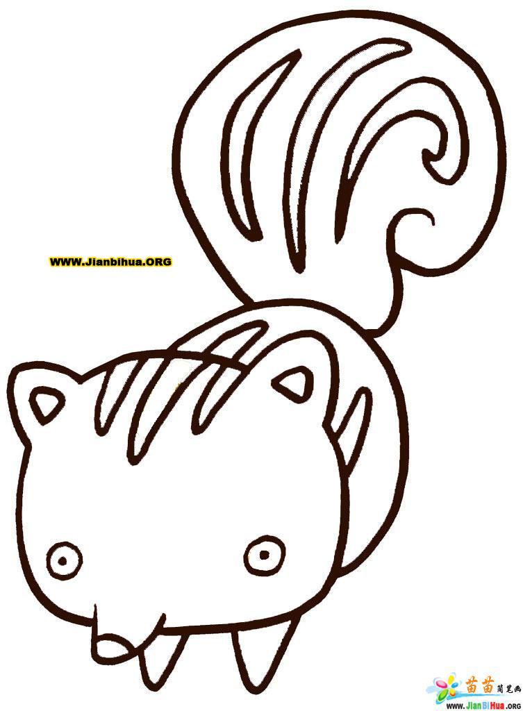 动物简笔画16张图片集(第16张)