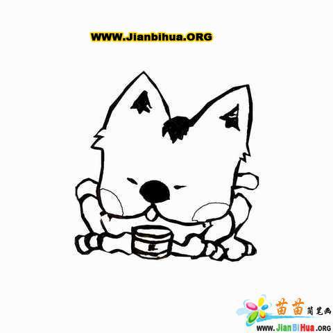 幼儿动物简笔画绘画作品