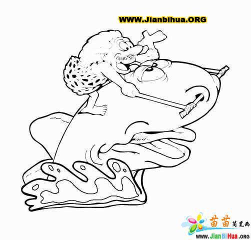 卡通 贺家村/类别: 卡通动物简笔画 图片张数:11张上传者:贺家村尺寸:...