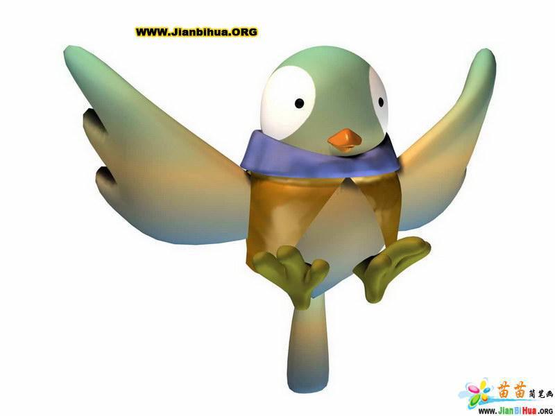 简笔画 鸟类/类别: 卡通动物简笔画 图片张数:10张上传者:让证明尺寸:...