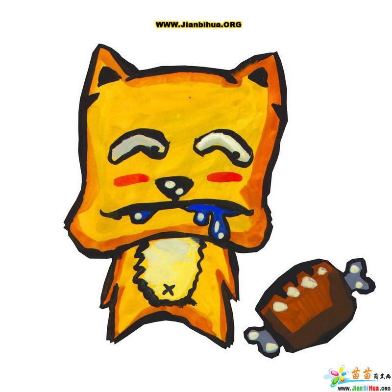 小动物卡通头饰简笔画小动物的头饰小动物场景简