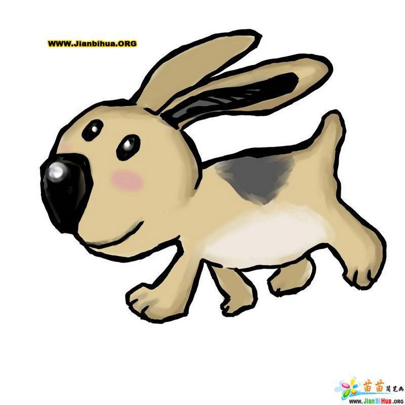 儿童彩色简笔画动物_儿童彩色简笔画_儿童彩色风景简笔画_青年图片