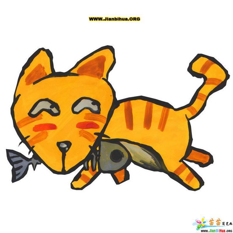 可爱动物简笔画图片共10张第4张