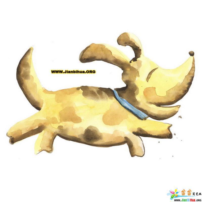 动物简笔画——可爱动物类10张