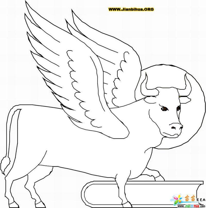 动物头像简笔画的画法15张