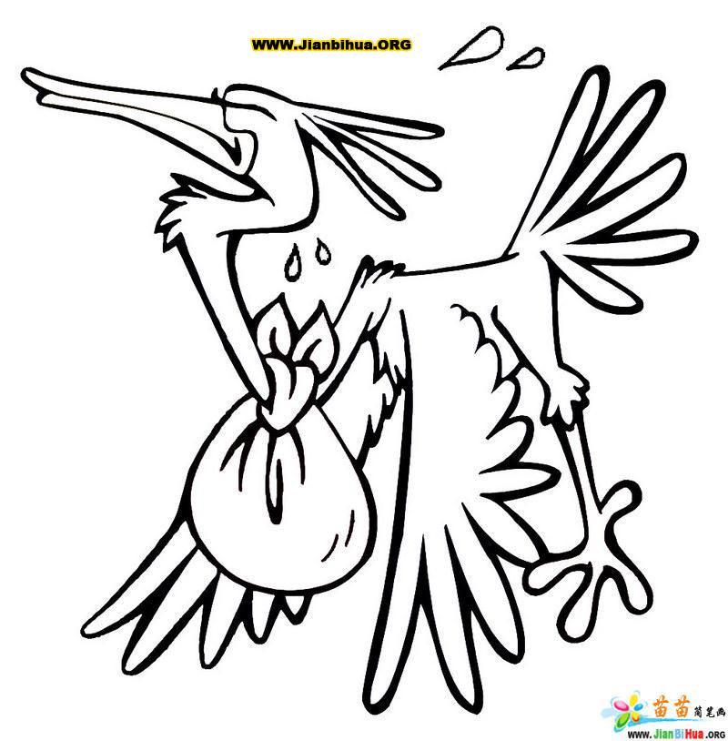 彩色十二生肖简笔画图片