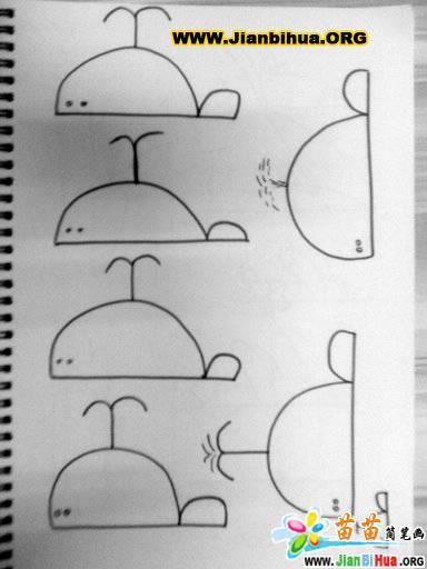 关于鱼的简笔画图片6张 第2张