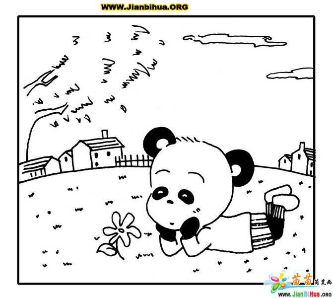 线条动物简笔画图片14张
