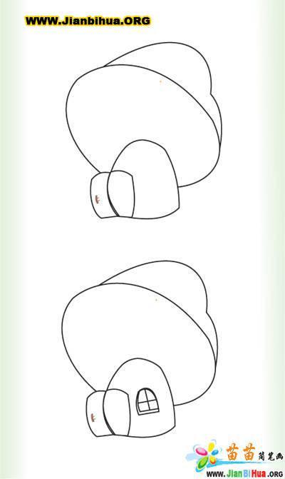 小兔子简笔画大全5张(第4张)