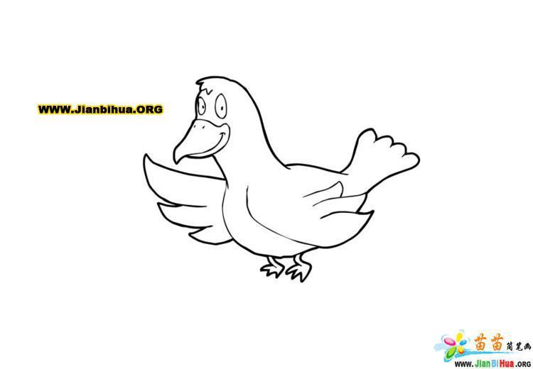 如何画卡通恐龙简笔画教程图片5张第5张