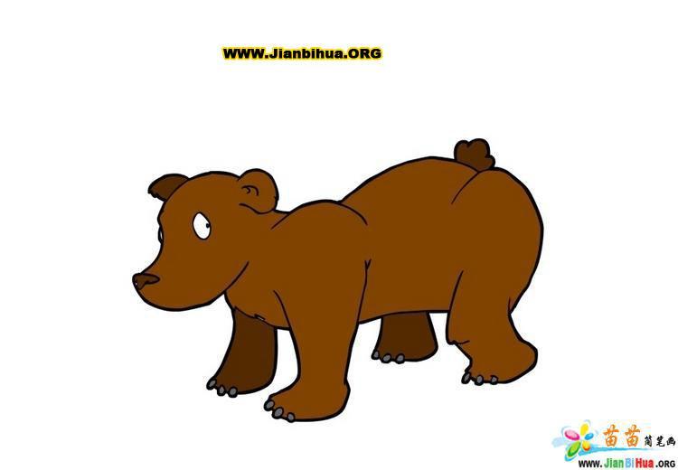 常见动物简笔画彩色版36张(第2张)