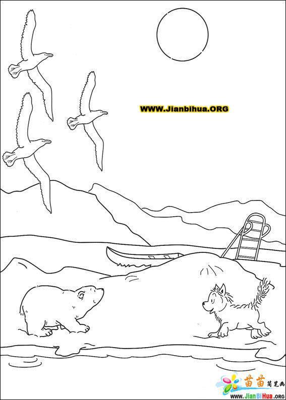 龙猫图片简笔画图片大全