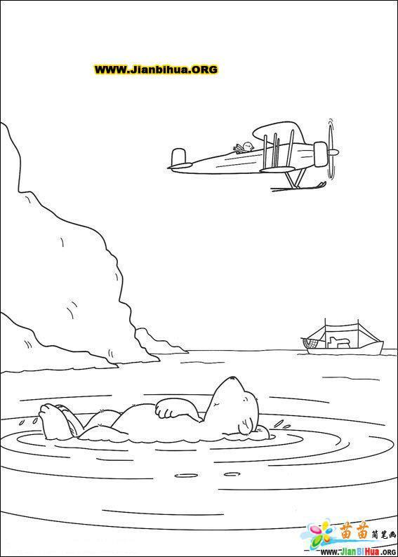 森林动物简笔画——小树袋熊21张(第7张)