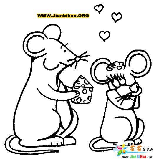 可爱的卡通大象简笔画30张第7张