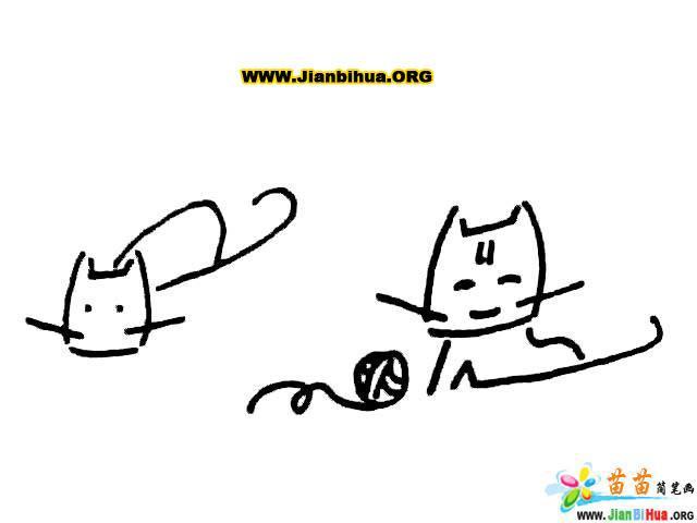 简笔画技法图谱——10张动物简笔画图片教程