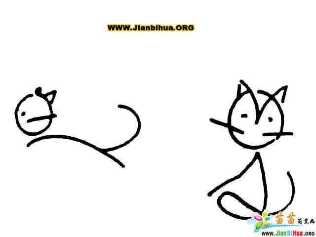 动物简笔画,小动物简笔画大全,儿童卡通动物简笔画, 啄木鸟简笔画