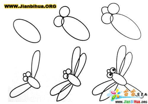 常见动物简笔画大全12张(第6张)