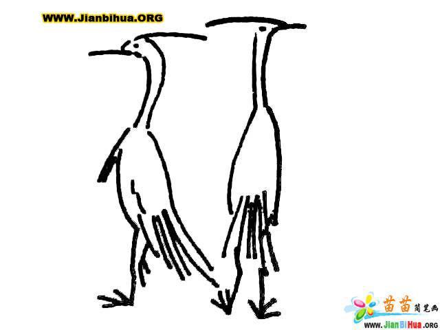 简笔画技法大全 鸟儿类的画法8张 第7张