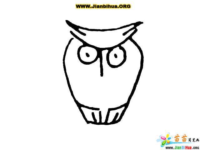 简笔画技法大全9张——各种鸟类的画法(第2张)
