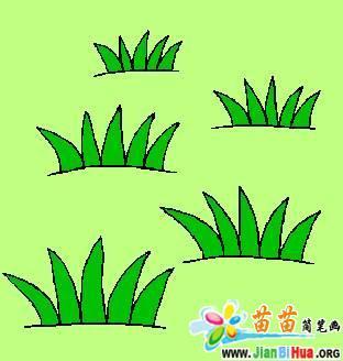 小树的简笔画_植物简笔画
