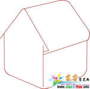 小房子简笔画图片大全12张