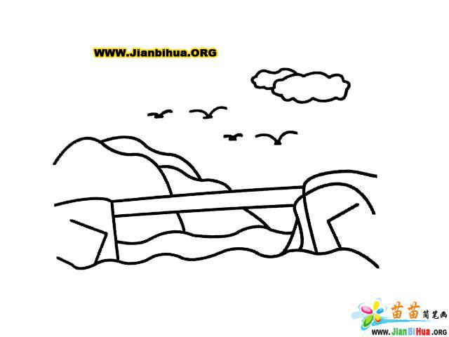笔画人物画法卡通,简笔画桥的画法,简笔画人物画法 ...