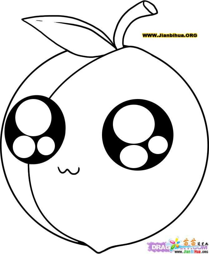 幼儿简笔画―水果