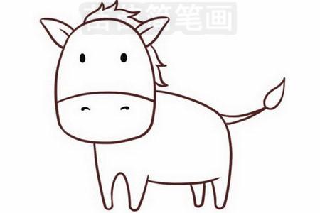 简笔画 动物简笔画 野生动物简笔画 >> 正文内容   斑马简笔画分步骤