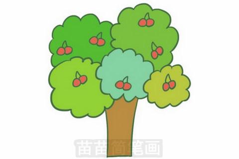 果树简笔画大图