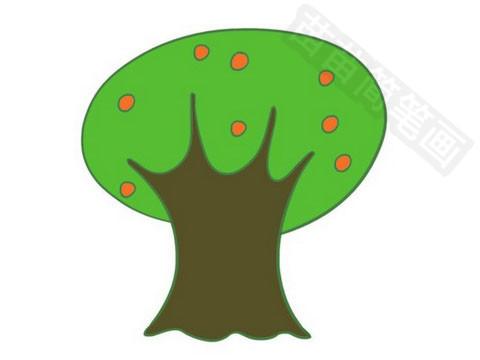果树简笔画图片大全作品四