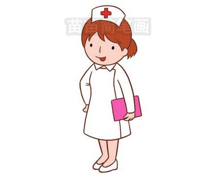 护士简笔画图片大全作品三