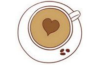 咖啡简笔画图片大全、画法