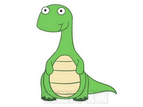 恐龙简笔画图片大全作品五