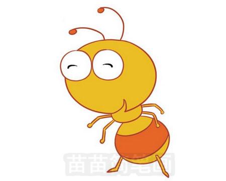 蚂蚁简笔画图片大全作品五