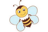 蜜蜂简笔画彩色图片大全、教程