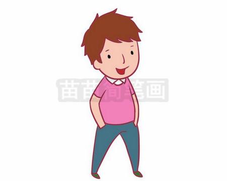 简笔画 人物简笔画 卡通人物简笔画 >> 正文内容   男青年小知识:青年