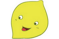 柠檬简笔画图片大全、画法