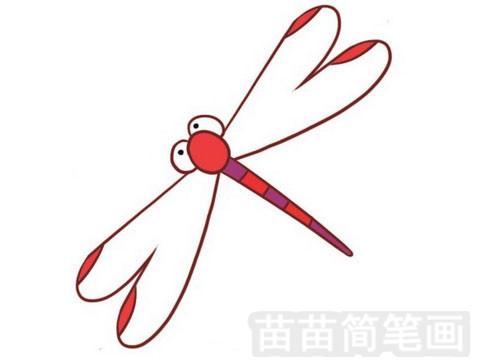 蜻蜓简笔画图片大全作品一