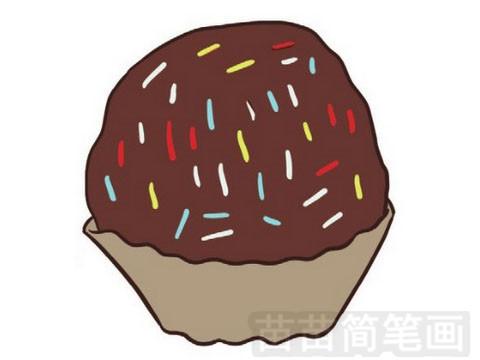 生日蛋糕简笔画图片大全作品一