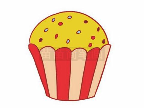生日蛋糕简笔画图片大全作品二