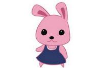 兔子简笔画彩色图片大全、教程