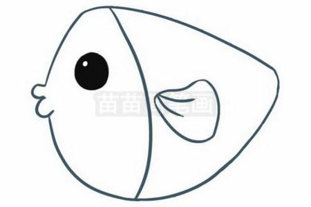 小鱼简笔画图片大全,教程