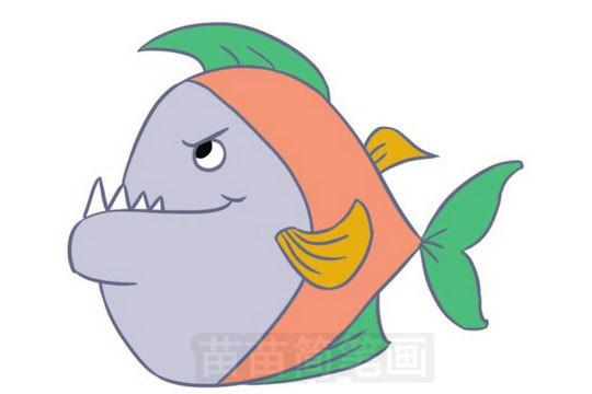 简笔画 动物简笔画 海洋动物简笔画 >> 正文内容   小鱼小知识:中国计