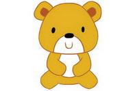 小熊简笔画怎么画、图片大全